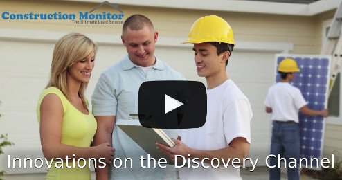 Construction Monitor -- Innovations on Discovery Channel with Ed Begly Jr